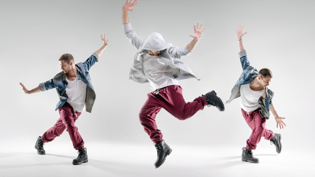 3 talented dancers